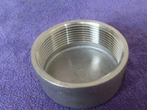 Forged Threaded Cap