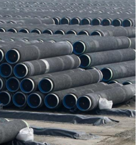 Subsea counterweight pipeline