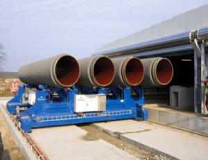 concrete coating pipe