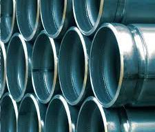 Galvanized grooved pipe