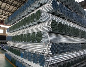 Grooved galvanized pipe