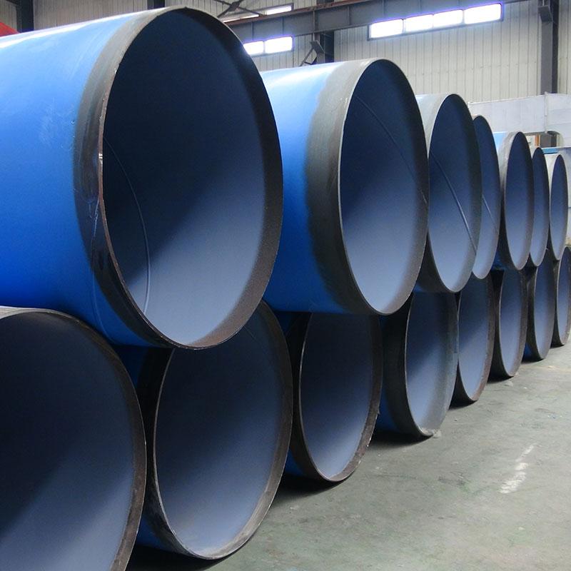 PE-FBE steel pipe